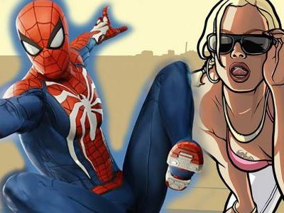 Play as Spider-Man PS4 in GTA with Awesome Mod