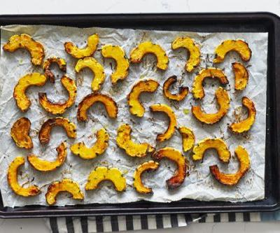 Rosemary Roasted Delicata Squash