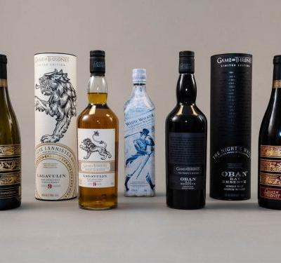 We tried 'Game of Thrones'-themed scotch, wine, and beer - and we threw anything we didn't like out the Moon Door