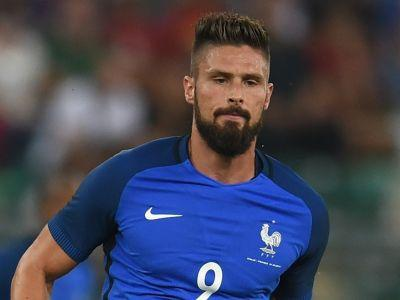 Giroud answers his critics with goals, says Deschamps