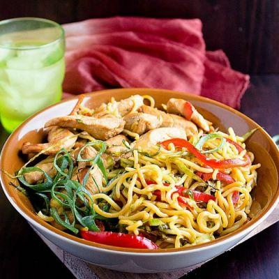 Easy Chicken Chow Mein Noodles