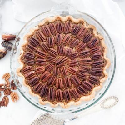 Date Syrup Pecan Pie