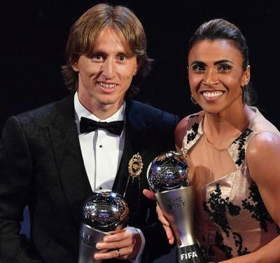 Modric defeats Ronaldo and Salah to be crowned FIFA's The Best of 2018