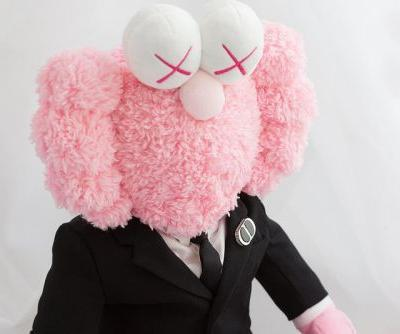 Dior x KAWS Pink 'BFF' Plush Lands on StockX for $9,999,999 USD