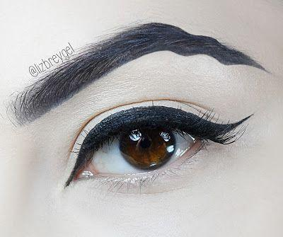 Squiggly Eyebrows Easy Makeup Tutorial