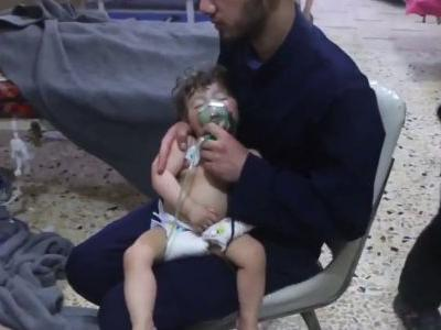There's already talk the US could respond with missile strikes after Trump accused Putin and 'Animal Assad' of being behind a chemical attack in Syria
