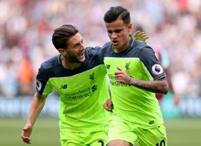 Liverpool thrashes West Ham to maintain control of CL hopes