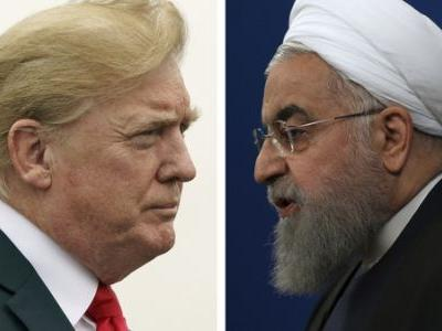 Trump To Iran's President: 'NEVER, EVER THREATEN' The U.S. Again