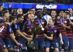 U.S. defeats Jamaica 2-1 to win Gold Cup