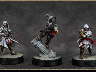 Assassin's Creed Board Game Brotherhood of Venice Launched on Kickstarter and Was Quickly Funded