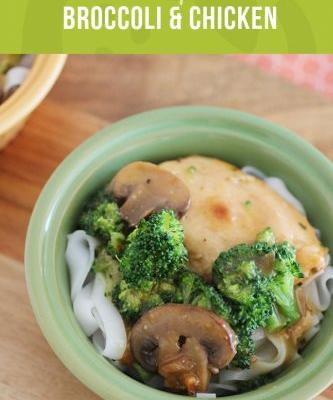 Healthy Crockpot Meal: Chicken and Broccoli