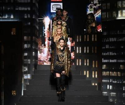Jeremy Scott Transported Us to Time Square's MTV Heyday for the Moschino x H&M Runway Show