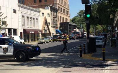 Gunman on the run after shooting in downtown Sacramento