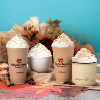 Enjoy the Comforting Flavors of Fall with Gloria Jean's Coffees