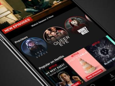 Netflix brings 30-second video previews to mobile