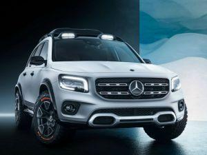 Mercedes-Benz GLB Concept Showcased At Auto Shanghai 2019