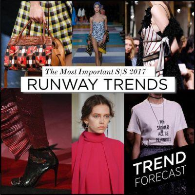 The Top 15 Runway Trends for S/S 2017