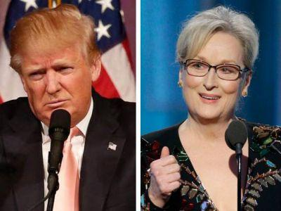 Trump lashes out at 'over-rated' Meryl Streep after actress calls out bullying at Golden Globes