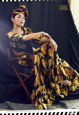 Zoe Tay in Dolce&Gabbana for 8 Days Singapore May