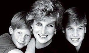 Princes William and Harry announce the making of a statue of Princess Diana