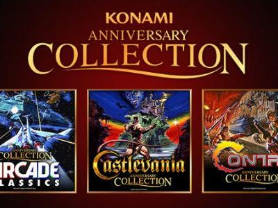 Konami 50th Anniversary Arcade Classics, Castlevania, and Contra Collections announced for Switch