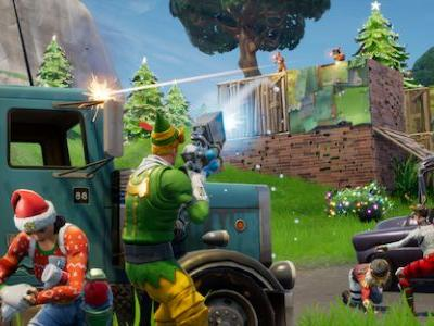 Fortnite Update 1.11 Adds Holiday Event, Read the Patch Notes