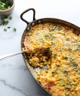 Healthy Sweet Corn Pudding