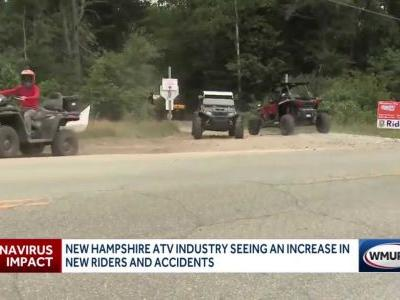 With ATV use on rise in NH amid pandemic, officials worry about inexperienced riders