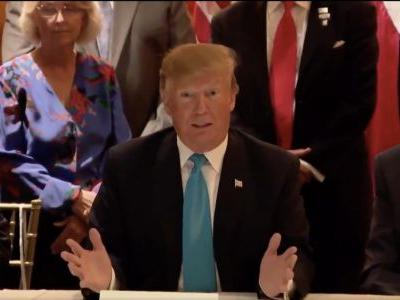 Trump Laments Troops at Border Can't Get 'Rough' Because People Would 'Go Crazy'