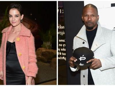 Katie Holmes Seemingly Confirms Her Relationship With Jamie Foxx by Attending His Eyewear Launch