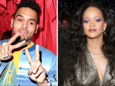 Chris Brown Wishes Rihanna a Happy 30th Birthday - and Fans Are Like, Stop