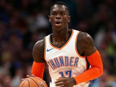 Thunder's Dennis Schroder, Raymond Felton suspended for roles in scuffle with Bulls
