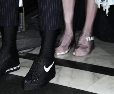 Haizhen Wang's Spring 2018 Showcase Featured a Creative Spin on the Nike Air Force 1