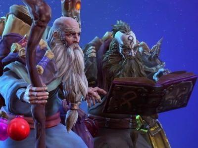 Deckard Cain slowly shuffles into Heroes of The Storm