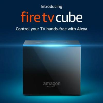Amazon Launches 4K Fire TV Cube With Alexa