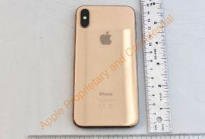 Here's our first look at Apple's unreleased gold iPhone X