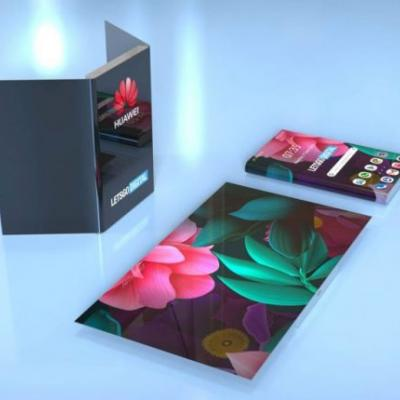 Huawei patents more designs for foldable phones