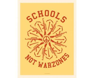 Shepard Fairey Creates National School Walkout Posters in Protest of Gun Violence