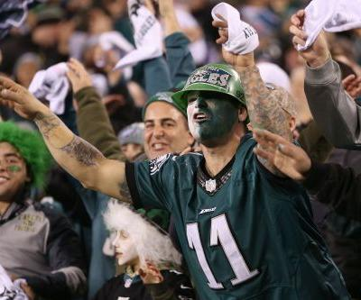 Eagles fans chanted 'We want Brady' after win