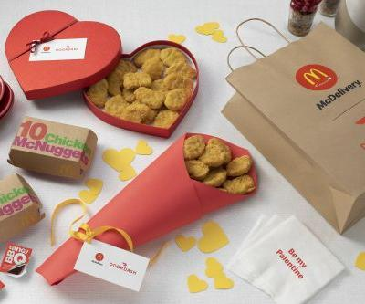 McDonald's Valentine's Day 2020 Deal Includes Discounted Delivery
