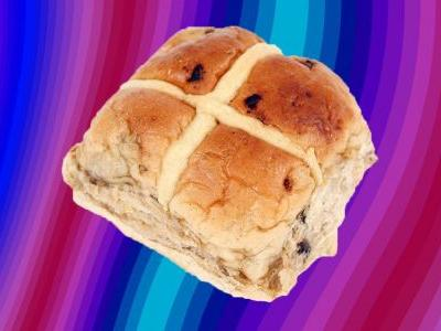 Pass us a knife and the butter: Giant hot cross buns are a thing