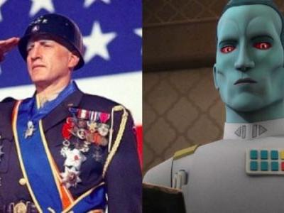 How Grand Admiral Thrawn Echoes the 1970 Classic 'Patton'