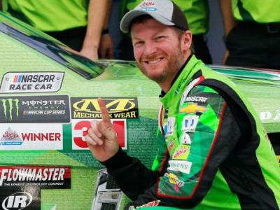 Dale Earnhardt Jr. Got His First Pole Position Ever At Talladega For His Last Race There