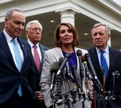 Democrats call shutdown meeting 'contentious' while president says it was 'productive'