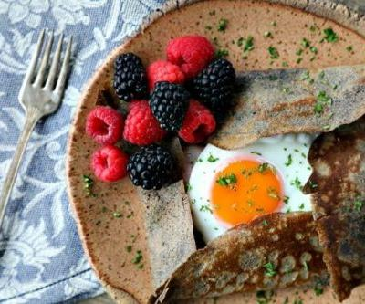 Buckwheat Crepes Recipe {Naturally Gluten-Free}