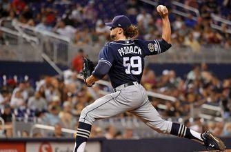 Starlin Castro homers in 8th inning to end Padres' Paddack's no-hitter