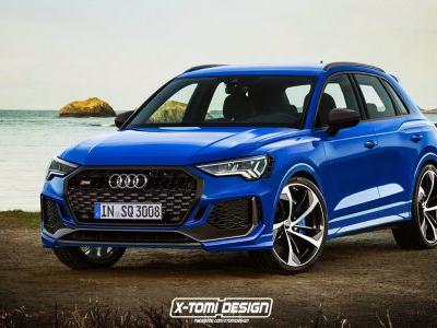 Upcoming Audi RS Q3 To Pack 367 HP