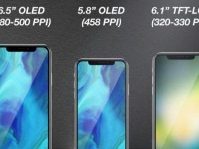 Alleged iPhone X Plus display assembly surfaces, claimed to be from an LG plant