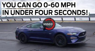 2018 Ford Mustang GT To Offer 0-60 In Under 4 Seconds With Drag-Strip Mode