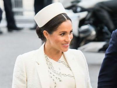 Meghan Markle Wore a Thing: Victoria Beckham Dress Edition